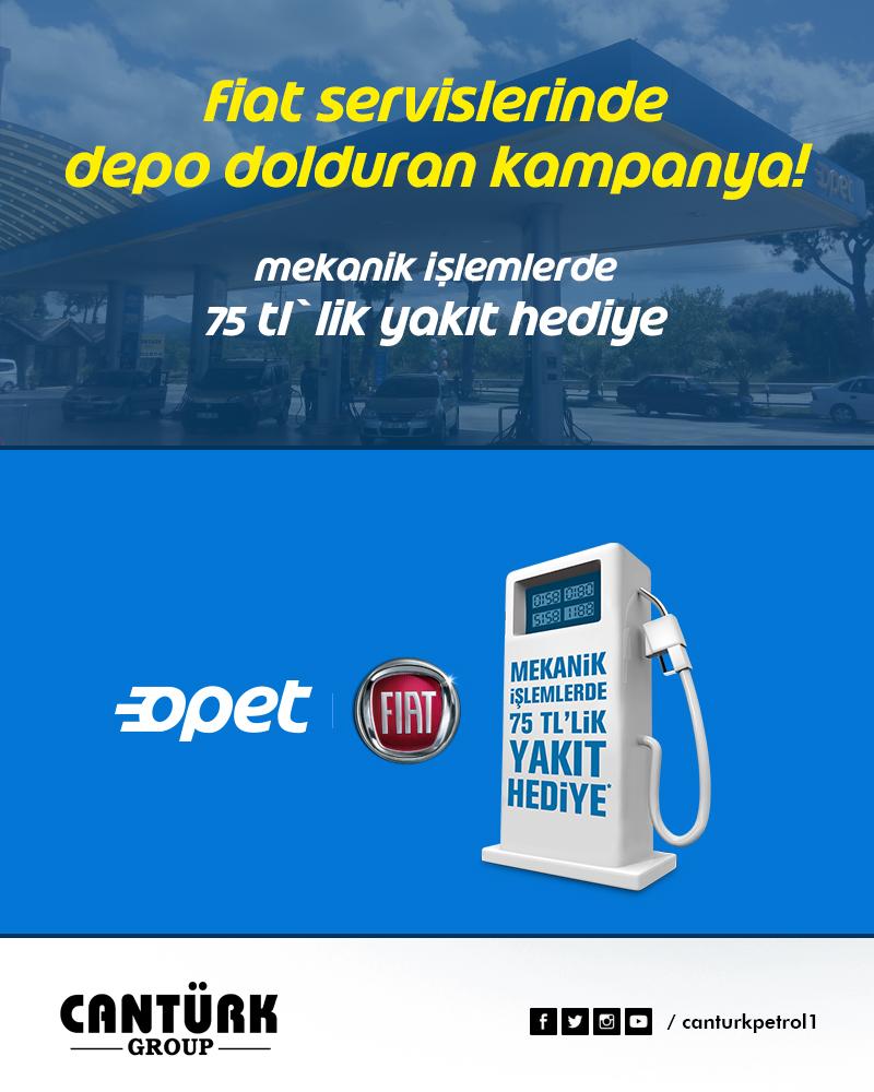 Fiat Servislerinde Depo Dolduran Kampanya Cantürk Group